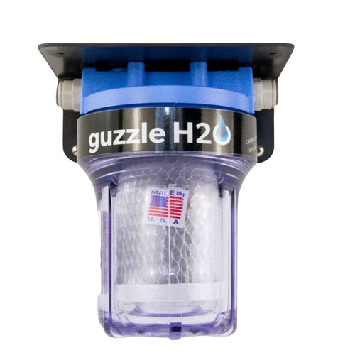 Stealth Carbon- Built in Water Filtration System by Guzzle H2O