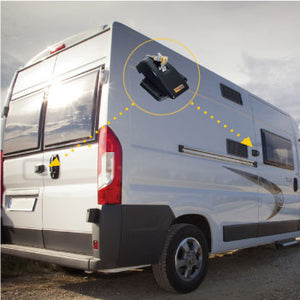 Ford Transit 2013-19 Full Van Security Lock Set by HEO Solutions