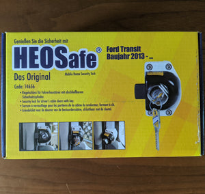 Ford Transit 2013-19 Front Door Lock Set by HEO Solutions