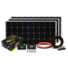 Load image into Gallery viewer, Extreme Solar Charging System (570 Watts + 3000 PSW Inverter)