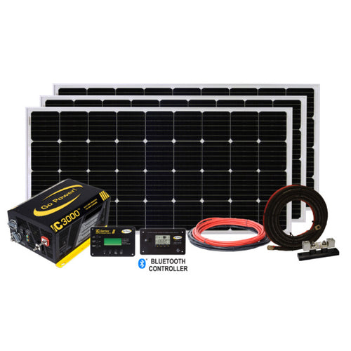 Extreme Solar Charging System (570 Watts + 3000 PSW Inverter)