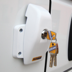 HEOSafe® VAN Security: additional lock for sliding, wing and rear door