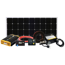 Load image into Gallery viewer, Weekender ISW Solar Charging System (190w +1500 PSW Inverter)