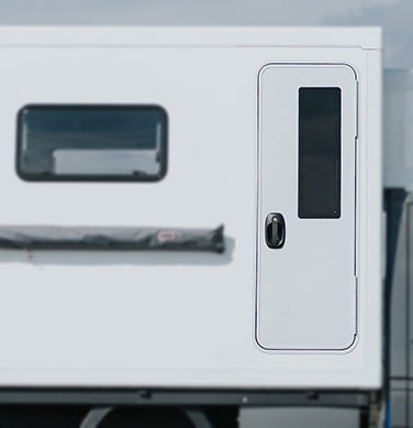 Motor Home Door by Arctic Tern
