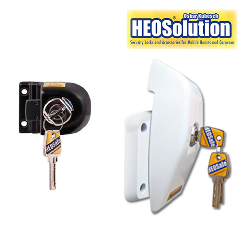 Mercedes Sprinter 2018-20 Van Security Locks by HEO Solutions