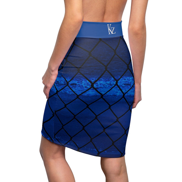 Kalent Zaiz Women's Pencil Skirt