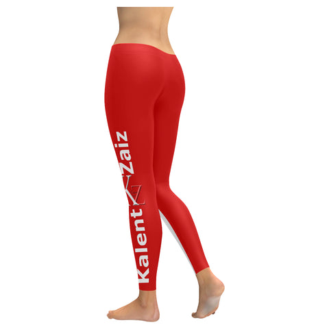 Kalent Zaiz Red Women's Legging