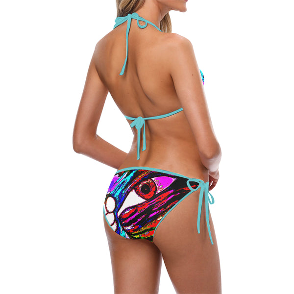 We have some exciting news to share! Since the demand was so high, we decide to create a new colorful Ey sexy bikini. Please enjoy it and send us your pic with our design and will to add it to (OUR CLIENTS PICK UP !!!) section in our home page website.