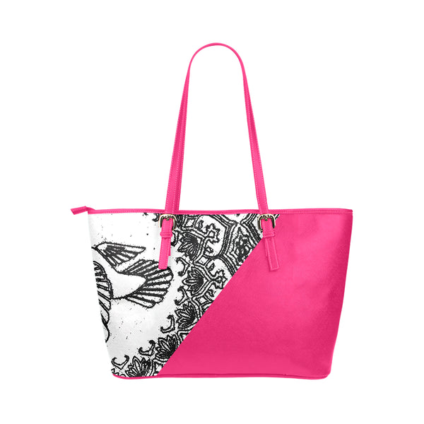 Kalent Zaiz Women Shoulder Pink Bag Dove Designable for Casual Outings PU Leather