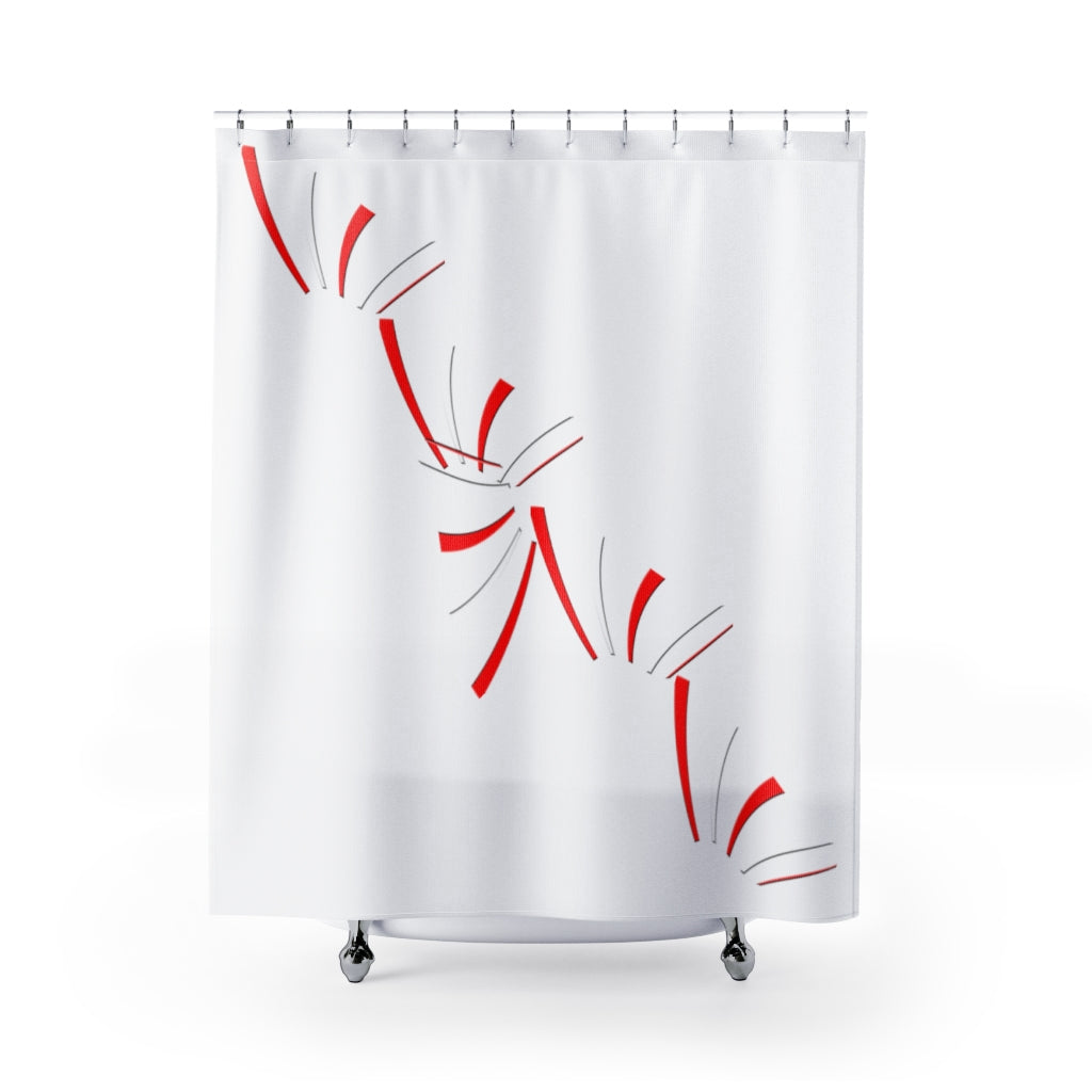 Kalent Zaiz home Shower Curtains