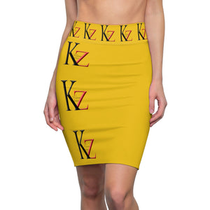 Copy of Kalent Zaiz Women's Pencil Skirt Doble