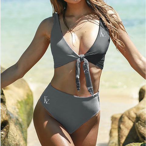 Tie Knot Two-piece Swimsuit Bikini