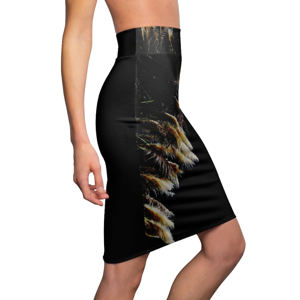 Kalent Zaiz Women's Pencil Skirt     Comfortable and soft, this high-quality pencil skirt is cut close to the body.   It's perfect for standing out on any occasion.