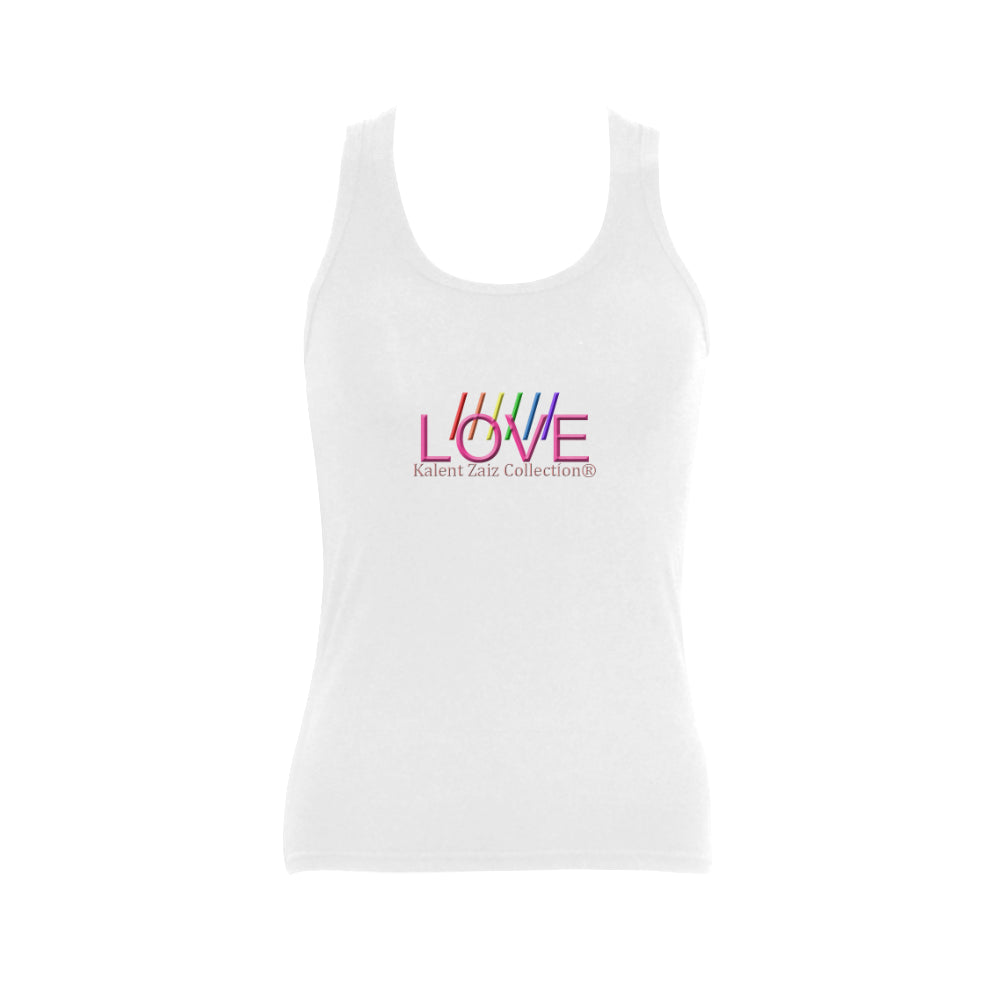 Kalent Zaiz Collection LGBT4 Women's Shoulder-Free Tank Top