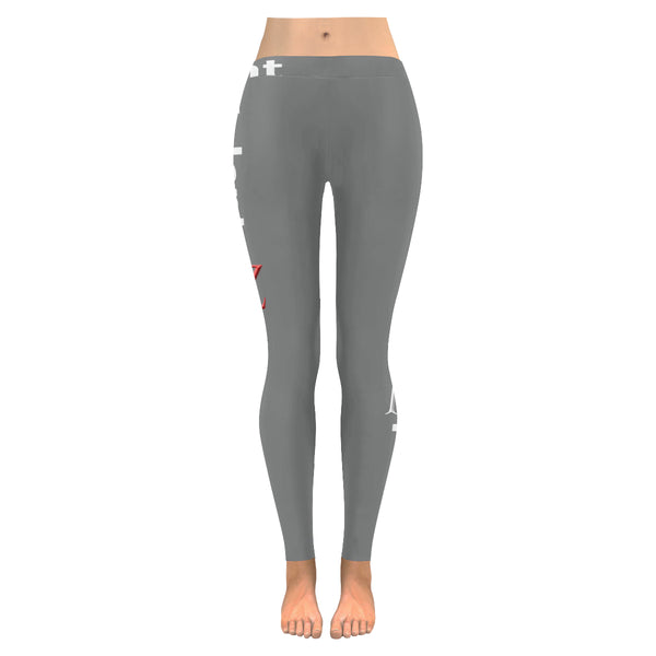 Kalent Zaiz Gray Women's Legging