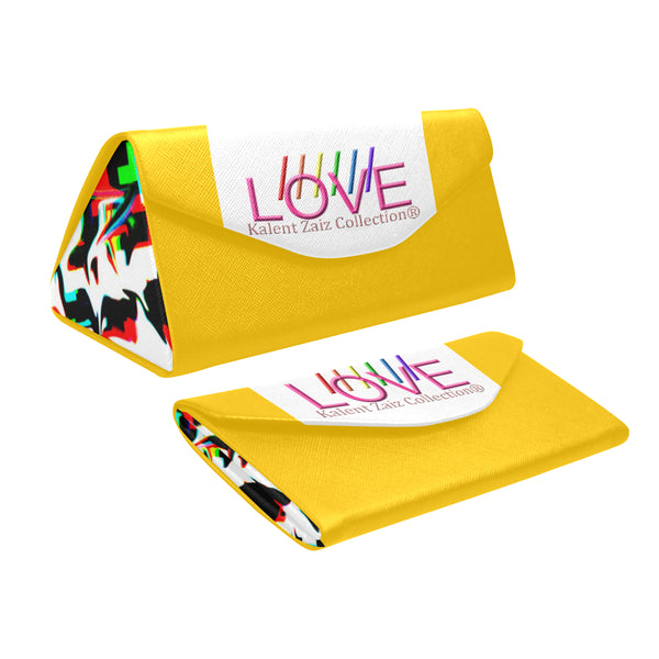 Foldable Triangular Sunglasses Case