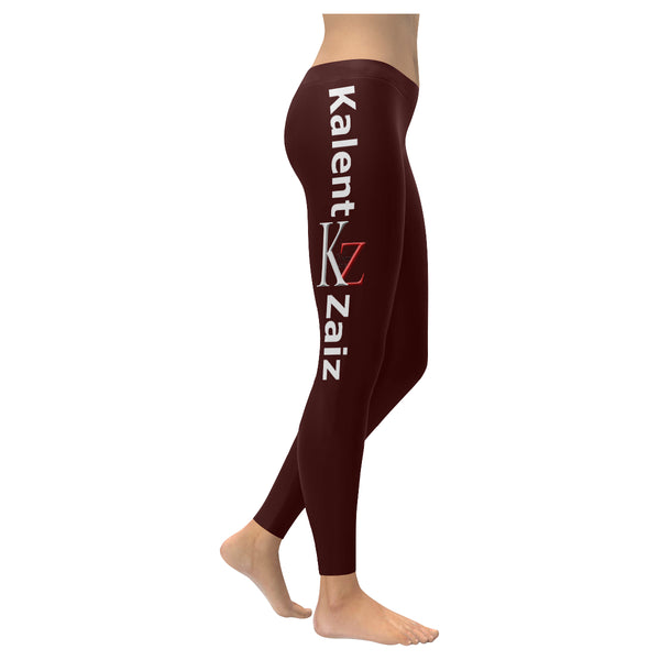 Kalent Zaiz Brown Women's Legging