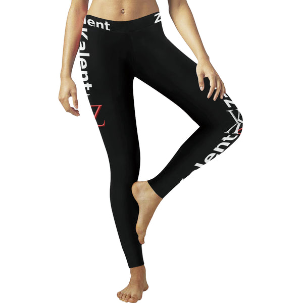 Kalent Zaiz Black Women's Legging