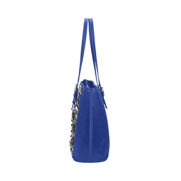 Kalent Zaiz Women Shoulder Blue Dove Fashionable PU Leather Bag for Casual Outings