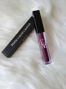 Kalent Zaiz Liquid Matte Purple Lipstick  (FREE SHIPPING TO USA)