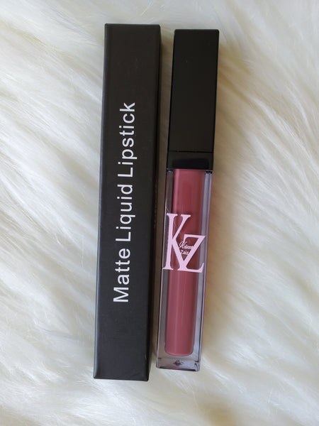 Kalent Zaiz Reddish Plum Liquid Matte lipstick #16 (Free Shipping to USA)