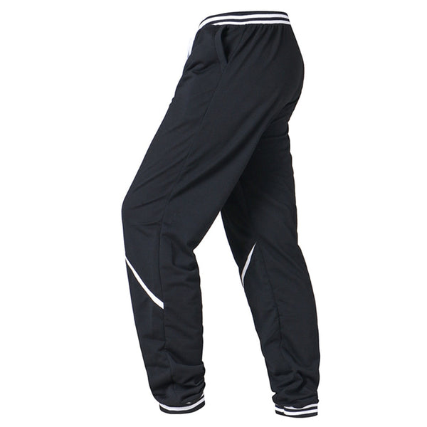 Men Cotton Flat Loose Fit Casual Joggers Full Length Sweatpants