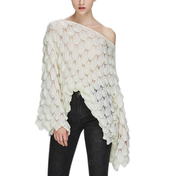 kalent zaiz  korean style casual crop sweater slim solid knitted