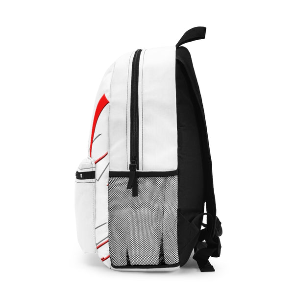 White Roomy Backpack (Made in USA)