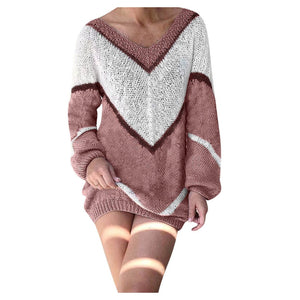 Kalent Zaiz Store Winter Plus size V-Neck Sexy Sweater