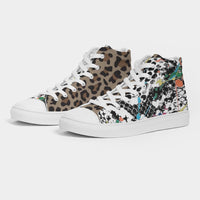 The Outdoors Grade School / Women's Hightop Canvas Shoe