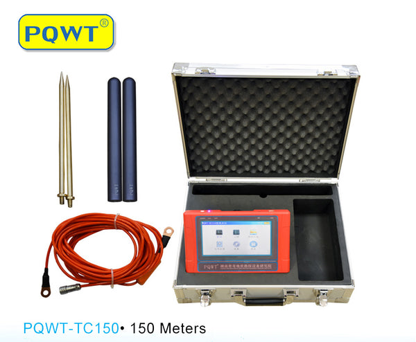 PQWT-TC150·150 Meters Automatic Mapping Underground Water Detector
