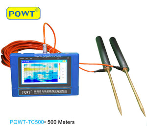 PQWT-TC500·500 Meters Automatic Mapping Underground Water Detector