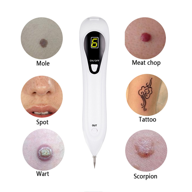 Skin Care Tools Laser Freckle Tattoo Skin Spots Mole Removal Pen pimple Verrugas Wart Tag Dark Spot Remover For Face Machine Pen