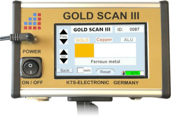 KTS Gold Scan III Metal Detector