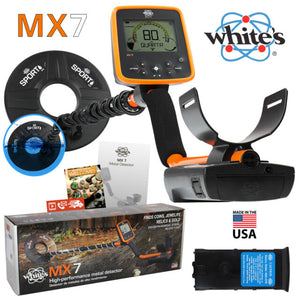 White's MX7 Metal Detector