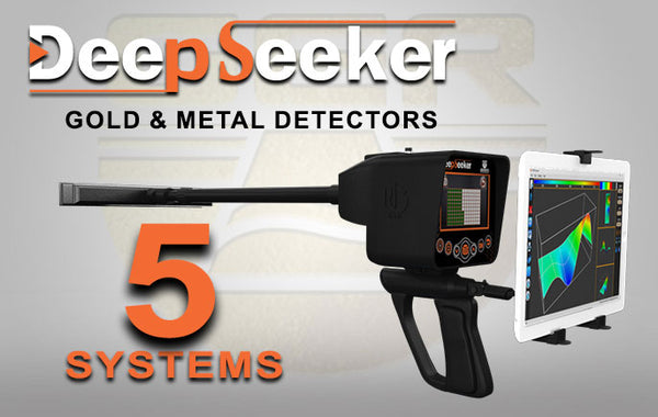 DEEP SEEKER Device 3D Metal Detector