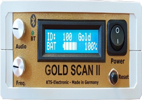 KTS GOLD SCAN II Metal Detector