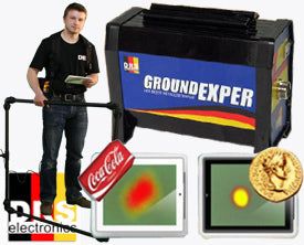 DRS Ground Exper Pro 3D Metal Detector