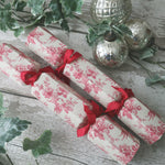 Reusable Fabric Covered Christmas Crackers