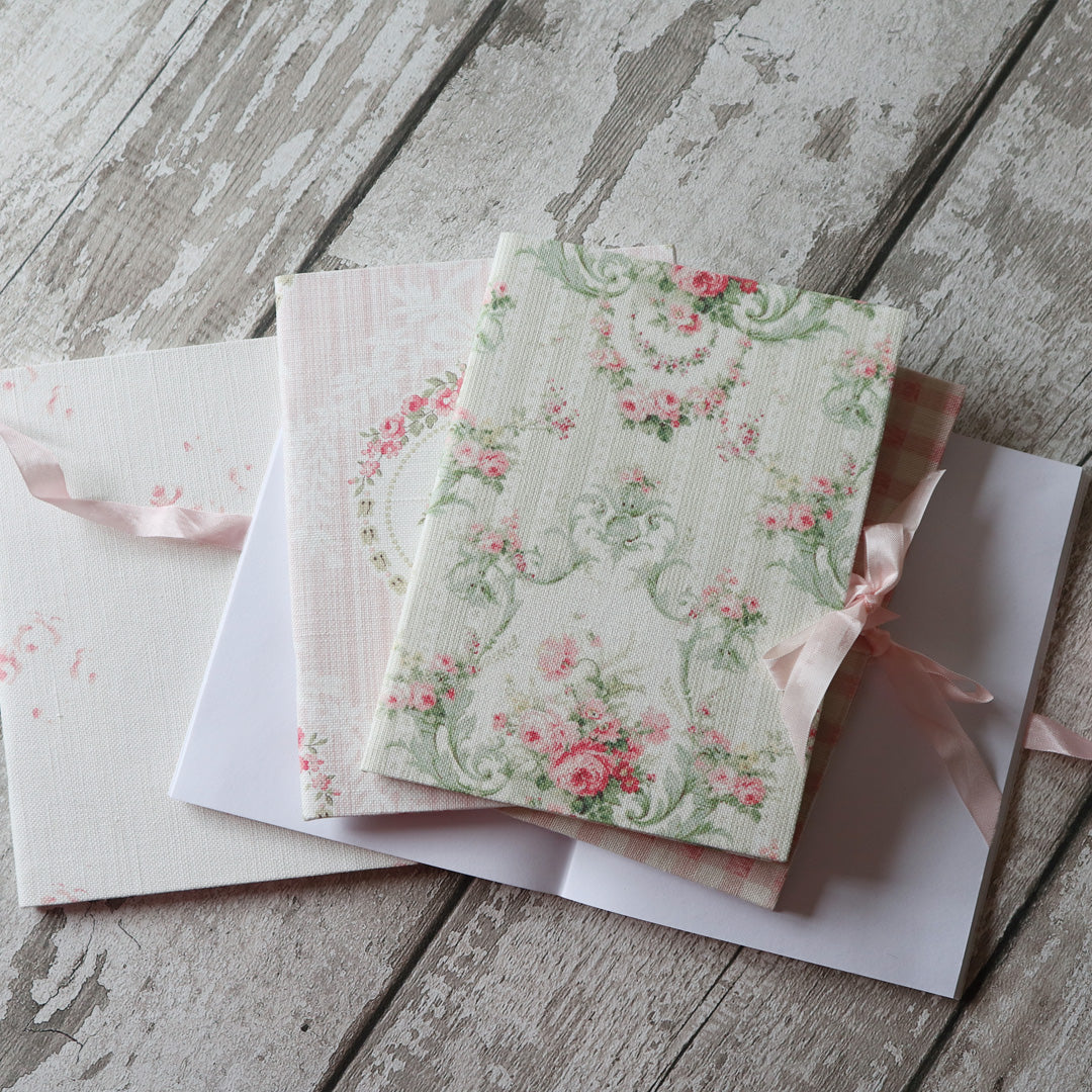 Fabric Covered Note/Sketch Books