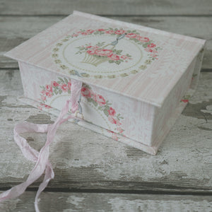 Fabric Covered Keepsake Boxes SMALL • MEDIUM • LARGE