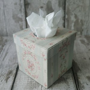 Fabric Covered Tissue Boxes
