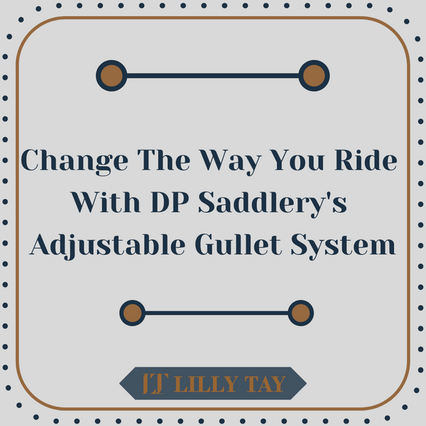 What is DP Saddlery's Adjustable Gullet Feature?