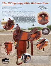 Load image into Gallery viewer, Alamo Saddlery KT Synergy Elite Balance Ride