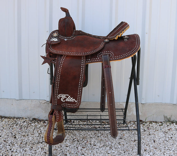 Alamo Saddlery Kim Thomas Rough Out Synergy Balance Ride