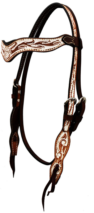 Alamo Saddlery IRO Wave Browband Headstall