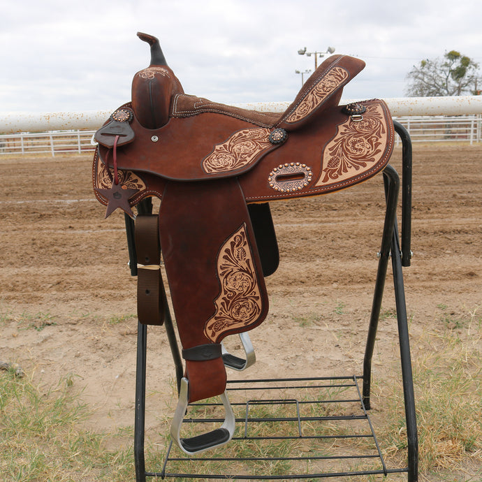 Alamo Saddlery SD-8 IRO Barrel Saddle