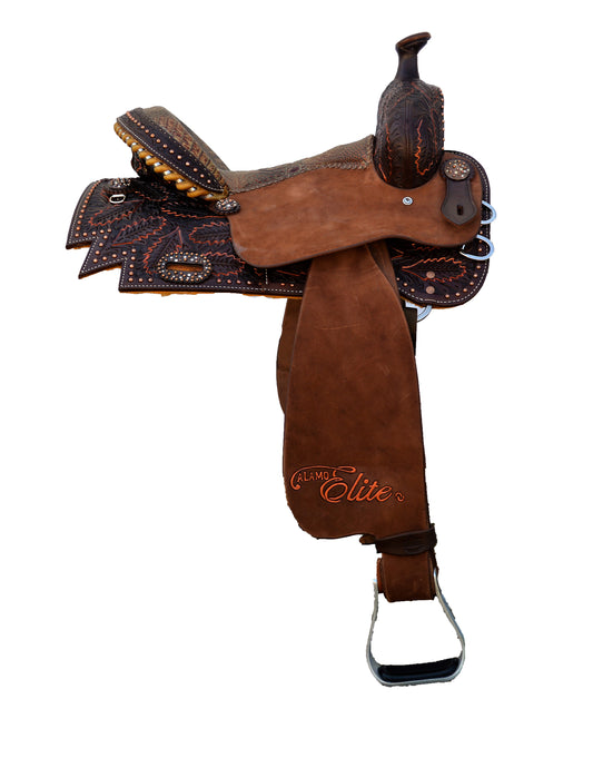 Alamo Saddlery Sherrylyn Johnson Fully Tooled