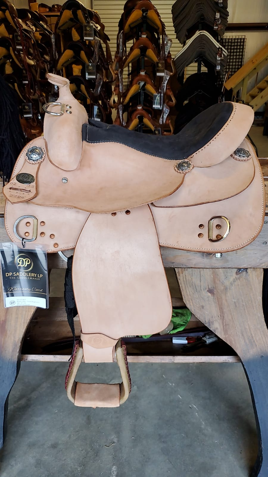 DP Saddlery Trainer Roughout 3877