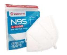ZEERONA N95 MASK WITHOUT FILTER WHITE